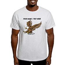 Custom Bald Eagle Mascot T-Shirt