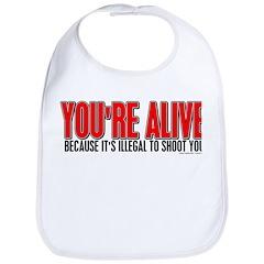 You're Alive Bib