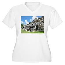 Altan-Ha Mayan Ruin in Belize, Central America Plu