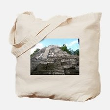 "Ancient Mayan Ruins ""Lumanai"" in Belize Tote Bag"