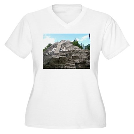 "Ancient Mayan Ruins ""Lumanai"" in Belize Plus Size"
