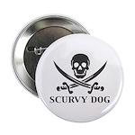Scurvy Pirate Button