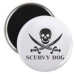 Scurvy Pirate Magnet