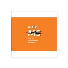 Walk to create a world free of MS- orange Square S