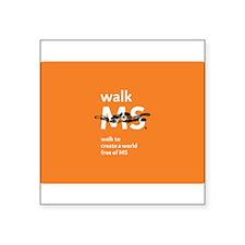 Walk to create a world free of MS- orange Square S