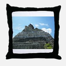 Xunanatunich Mayan Ruins in Belize Throw Pillow