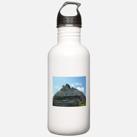 Xunanatunich Mayan Ruins in Belize Water Bottle