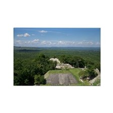 Xunantunich Mayan Ruins in Belize Rectangle Magnet