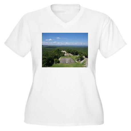 Xunantunich Mayan Ruins in Belize Plus Size T-Shir