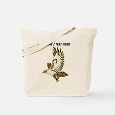 Custom Flying Falcon Tote Bag