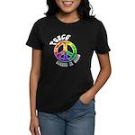 Peace Always in Style Women's Dark T-Shirt