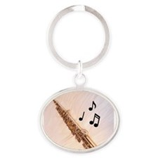 Cute Band Oval Keychain