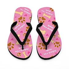 Yorkie-Poo Mom Gift Flip Flops
