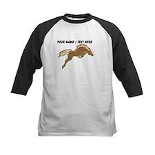 Custom Jumping Horse Baseball Jersey