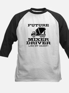Future Mixer Driver Kids Baseball Jersey