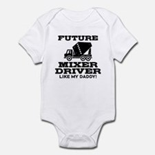 Future Mixer Driver Infant Bodysuit