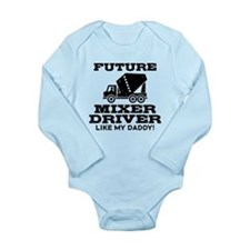 Future Mixer Driver Long Sleeve Infant Bodysuit