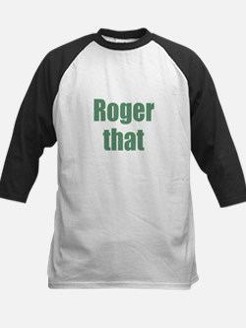 Roger That Baseball Jersey