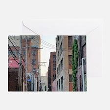 Cute Strip district Greeting Card