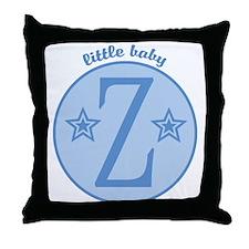 Baby Z Throw Pillow