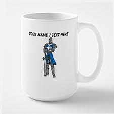 Custom Blue Knight Mug