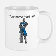 Custom Blue Knight Mug