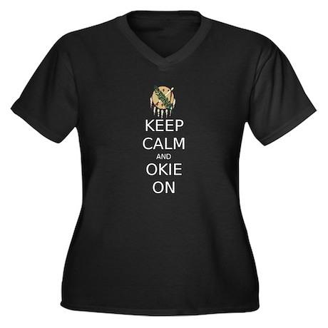 Oklahoma Relief Plus Size T-Shirt