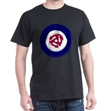 Retro Mod Target with 45 rpm adaptor T-Shirt