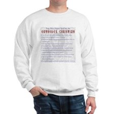 TOP TEN SIGNS YOURE ORTHODOX Sweater