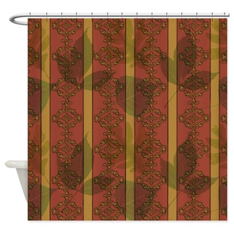 Wallpapers Fall Colors Shower Curtain By Jqdesigns