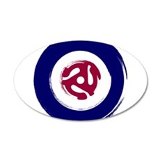 Mod Northern soul design with vinyl adaptor Wall D