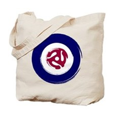 Mod Northern soul design with vinyl adaptor Tote B