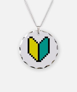 Pixel Wakaba / Shoshinsha Mark Necklace