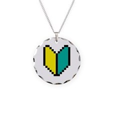 Pixel Wakaba / Shoshinsha Mark Necklace Circle Cha