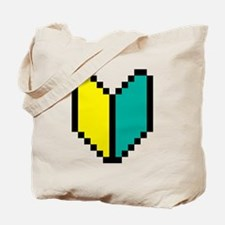 Pixel Wakaba / Shoshinsha Mark Tote Bag