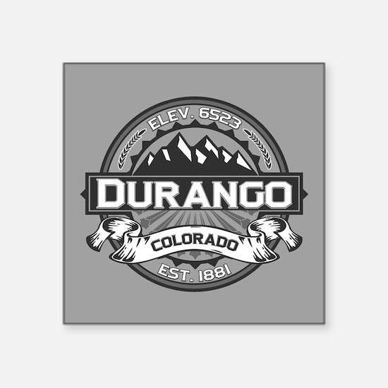 "Durango Grey Square Sticker 3"" x 3"""