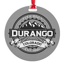 Durango Grey Ornament
