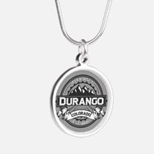 Durango Grey Silver Round Necklace