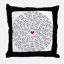 Remake A World Quote Throw Pillow