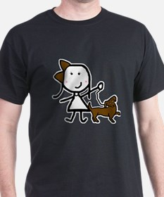 Girl & Dog T-Shirt