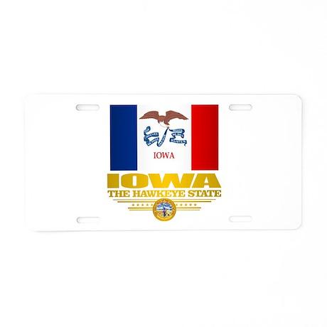Iowa Pride Aluminum License Plate