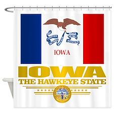 Iowa Pride Shower Curtain