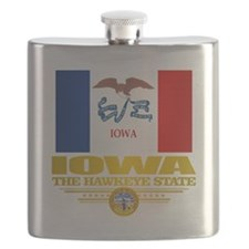 Iowa Pride Flask