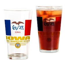Iowa Pride Drinking Glass