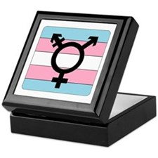 Transgender Equality Keepsake Box