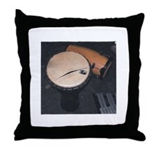 Break the Drum Throw Pillow