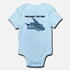 Custom Blue Shark Cartoon Body Suit