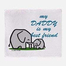 My Daddy (9) Throw Blanket