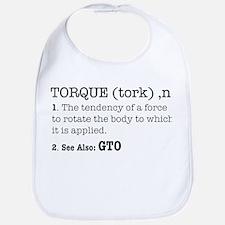 Torque defined Bib