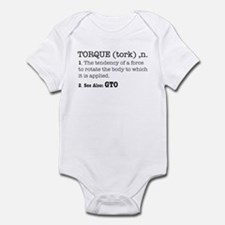 Torque defined Infant Bodysuit